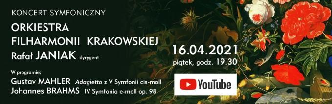 Wielkie dzieła symfoniczne w interpretacji Rafała Janiaka [koncert Filharmonii Krakowskiej online]