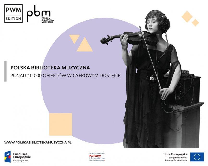 Polska Biblioteka Muzyczna: PWM podsumowuje projekt filmową animacją