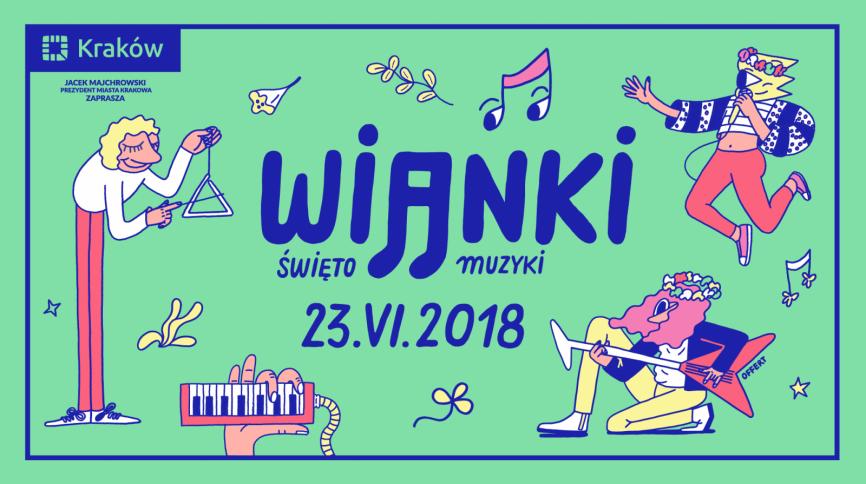 Wianki – Święto Muzyki  23 czerwca. Muzyka opanuje cały Kraków!