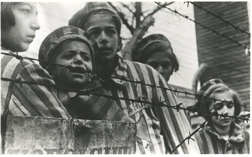 Wyzwolenie dzieci z Auschwitz-Birkenau, źródło: http://www.auschwitz.org