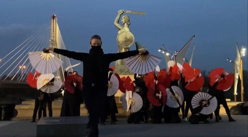 fot. kadr z wideo Małgorzaty Mikulik