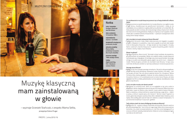 Numer 14 – Muzyczny coming-out