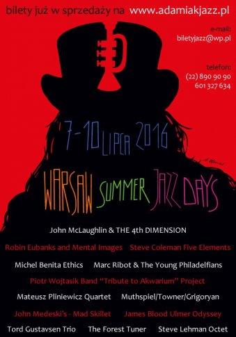 Warsaw Summer Jazz Days startuje 25. raz!