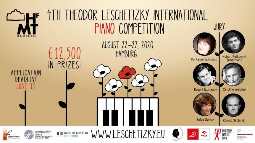 Przed nami IV Międzynarodowy Konkurs Pianistyczny im. Teodora Leszetyckiego