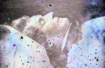 Fotografia Fryderyka Chopina na łożu śmierci