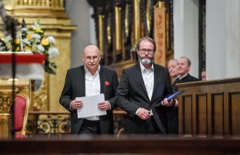 Włodek Pawlik i Artur Żmijewski. Zdjęcie: fanpage Włodka Pawlika