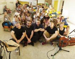 Żywa Lekcja Muzyki, projekt realizowany w kilku szkołach Małopolski przy finansowym wsparciu MKiDN