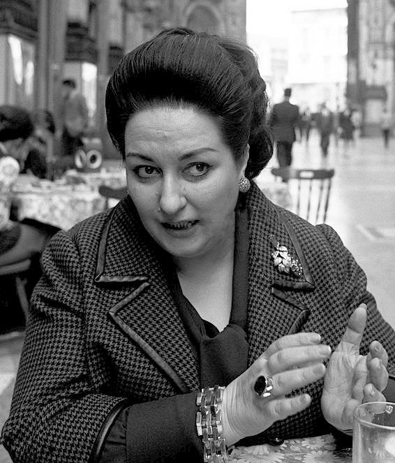 Montserrat Caballé. Rok 1971.