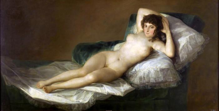 Maja Naga. Francisco Goya