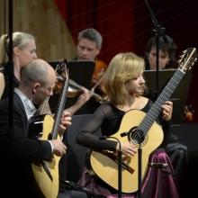 Kupiński Guitar Duo - Ewa Jabłczyńska i Dariusz Kupiński. fot. Śląska Jesień Gitarowa