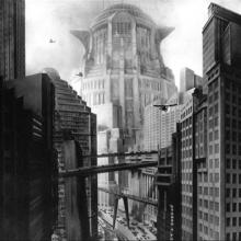 Nowa wieża Babel, kadr z filmu. Fot. Wikimedia